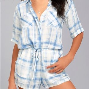 O'Neill Plaid Romper